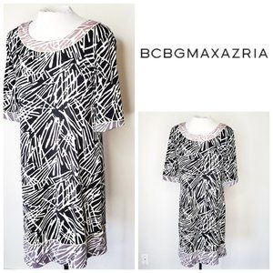 BCBG Abstract Shift Dress